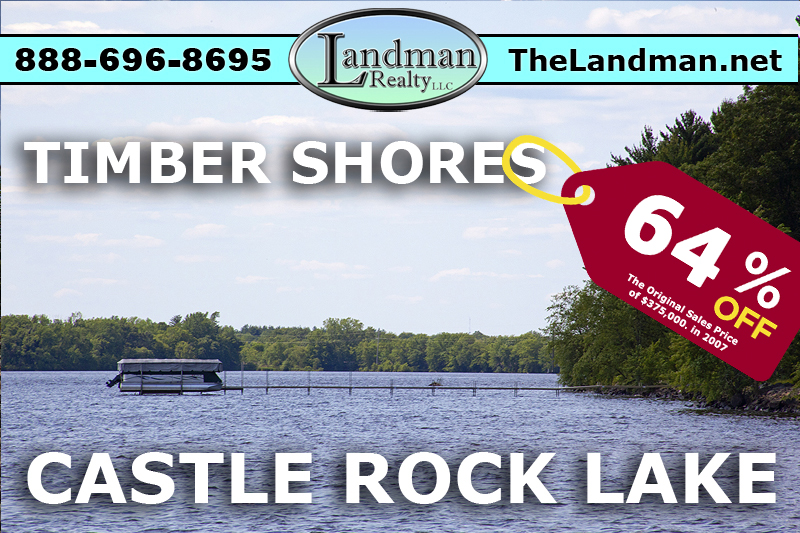 Castle Rock Lake Lot for Sale by ATVing