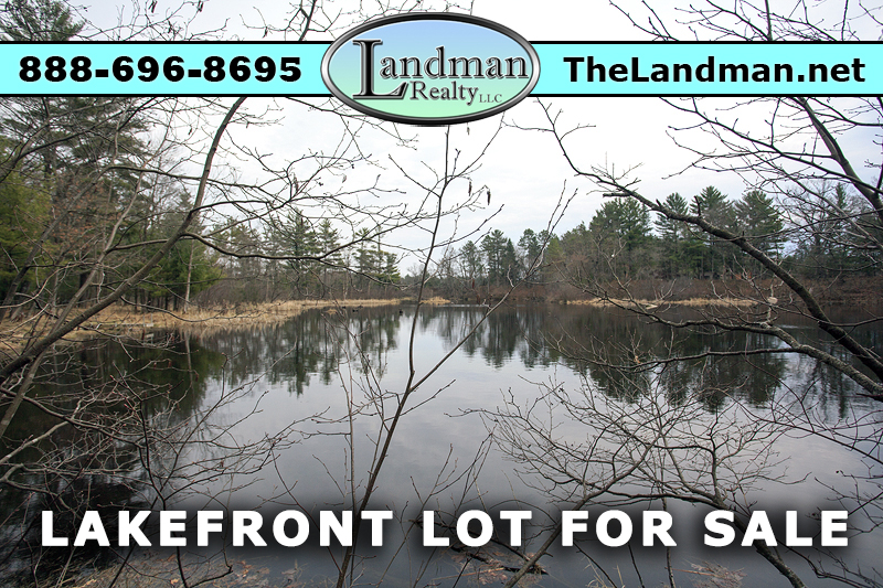 Friendship Lake Waterfront lot for Sale by ATV Trails