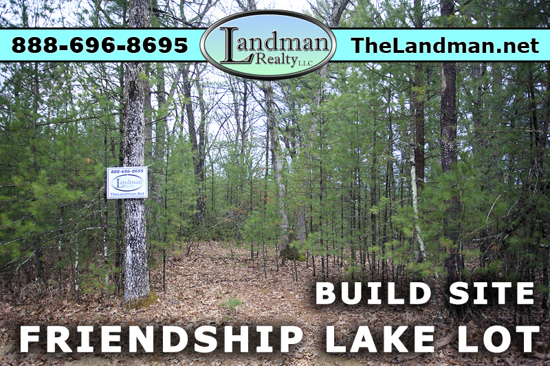 Friendship Lake Lot for Sale by ATV Trails