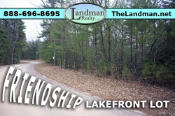 Friendship Lakefront Building Site Property for Sale by ATV Trails