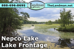 Nepco Lake Lot for Sale by ATVing